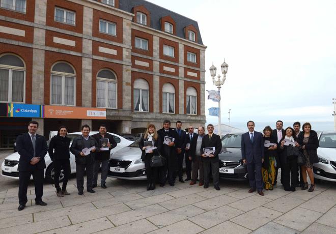 PSA Peugeot Citroen Argentina dono 24 vehiculos a todo el pais con el programa Guardianes de la Educacion 1
