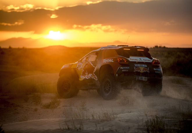 Peugeot 2008 DKR - Silk Road Rally - China
