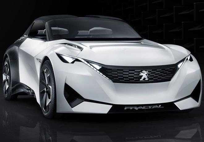 Peugeot - Salon de Frankfurt 2015 - Fractal 1