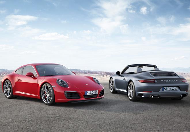 Porsche 911 Carrera S Coupe y 911 Carrera S Cabriolet