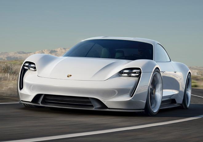 Porsche Mision E 1