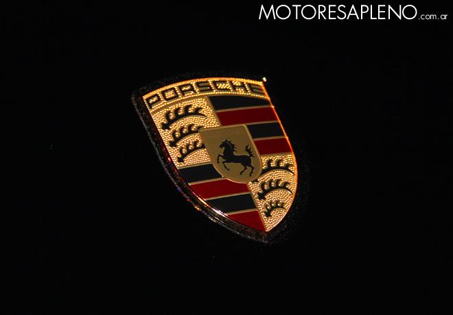 Porsche shield