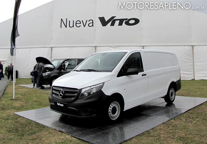 Presentacion Mercedes-Benz Vito