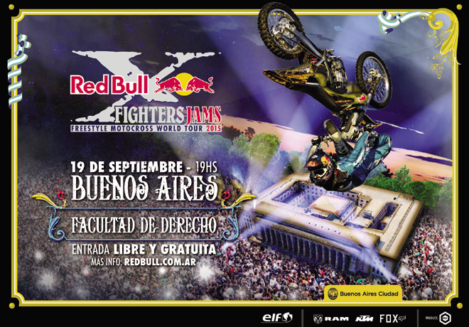 RAM - Sponsor del Red Bul X-Fighters Jams Buenos Aires