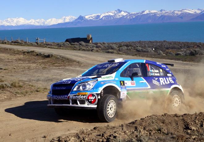 Rally Argentino - El Calafate 2015 - Final - Marcos Ligato - Chevrolet Agile MR