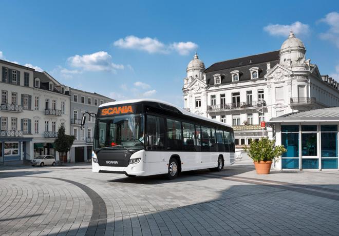 Scania expondra buses propulsados con combustible alternativo en Busworld 2015 1