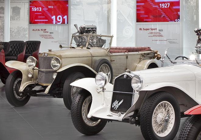 Se restauro el Museo Alfa Romeo en la ciudad de Arese - Italia