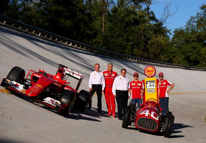 Shell - Alianza de Innovacion con Scuderia Ferrari