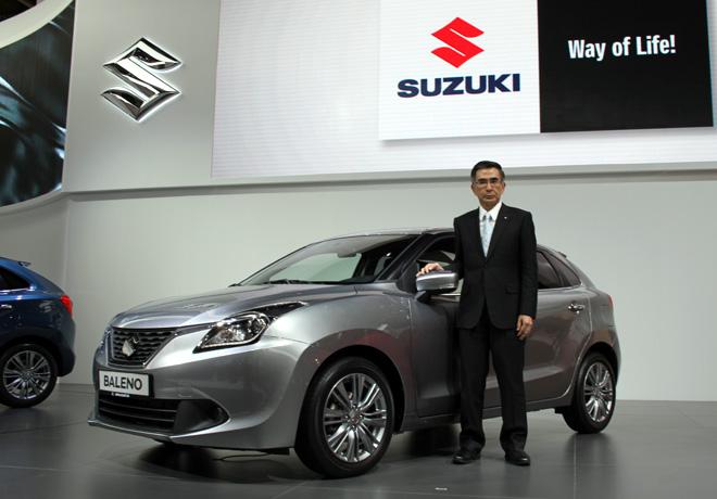 Suzuki - Salon de Frankfurt 2015 - Nuevo Baleno