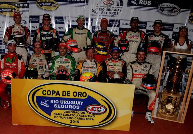 TC - Rafaela 2015 - Pilotos de la Copa de Oro
