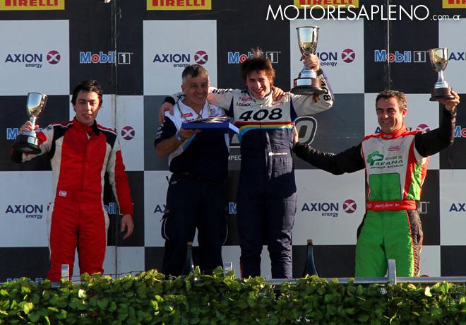 TC2000 - La Plata II 2015 - Carrera Sprint - El Podio