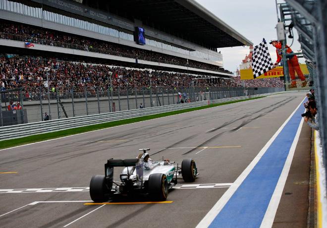 F1 - Rusia 2015 - Carrera - Lewis Hamilton - Mercedes GP