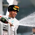 F1 - Rusia 2015 - Carrera - Lewis Hamilton en el Podio