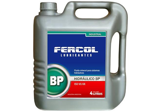 Fercol - Lubricante hidraulico BP 68