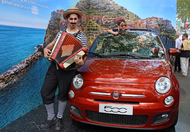 Fiat participo de Al Dente - Buenos Aires Celebra Italia 3