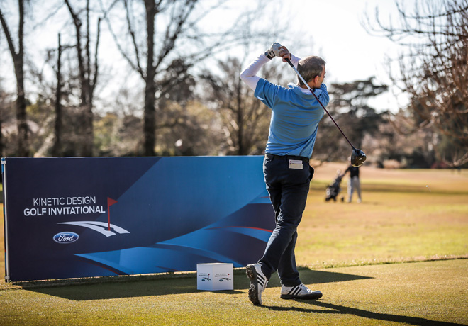 Ford auspicio el primer triangular de Golf en la 9na Edicion del Ford Kinetic Design Golf Invitational 1