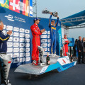 Formula E - Beijing - China 2015 - Lucas Di Grassi - Sebastien Buemi - Nick Heidfeld en el Podio