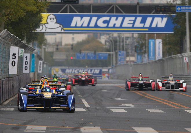 Formula E - Beijing - China 2015 - Sebastien Buemi - Renault-e-dams