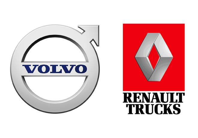 Logos Volvo Trucks y Renault Trucks