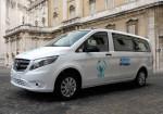 Mercedes-Benz - La VITO producida en Argentina en el Vaticano