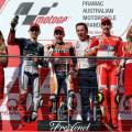 MotoGP - Phillip Island 2015 - Jorge Lorenzo - Marc Marquez - Andrea Iannone en el Podio