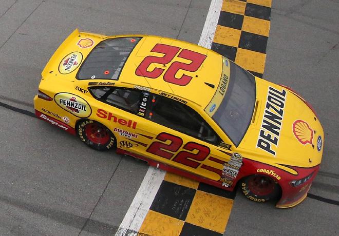 NASCAR - Talladega 2015 - Joey Logano - Ford Fusion