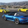 Porsche 911 Carrera 4S Coupe y Cabrio y 911 Targa 4S