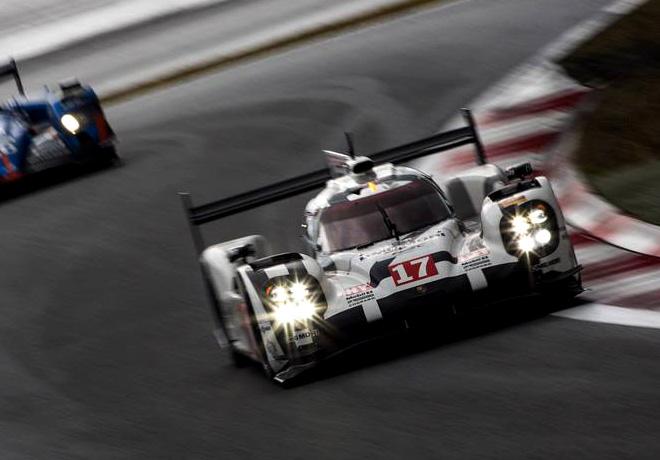 WEC - 6 hs de Fuji 2015 - Timo Bernhard - Mark Webber - Brendon Hartley - Porsche 919 Hybrid