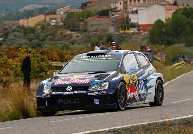 WRC - Catalunya 2015 - Dia 3 - Sebastien Ogier - VW Polo R