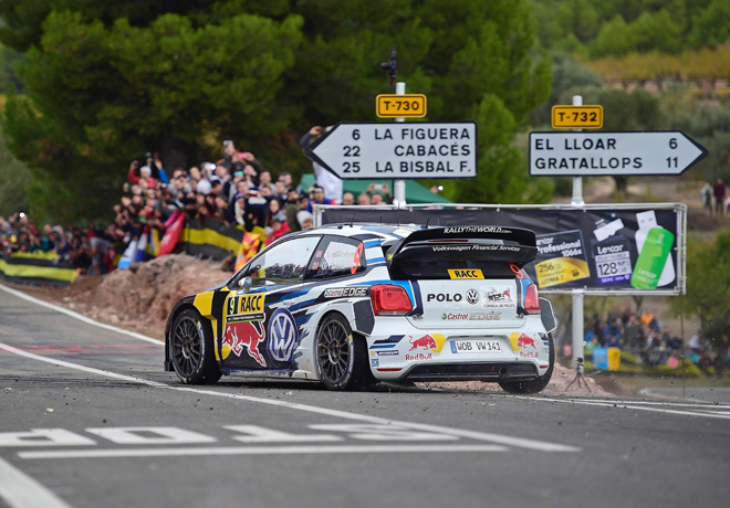 WRC - Catalunya 2015 - Final - Andreas Mikkelsen - VW Polo R