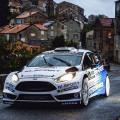 WRC - Corcega 2015 - Dia 1 - Elfyn Evans - Ford Fiesta RS