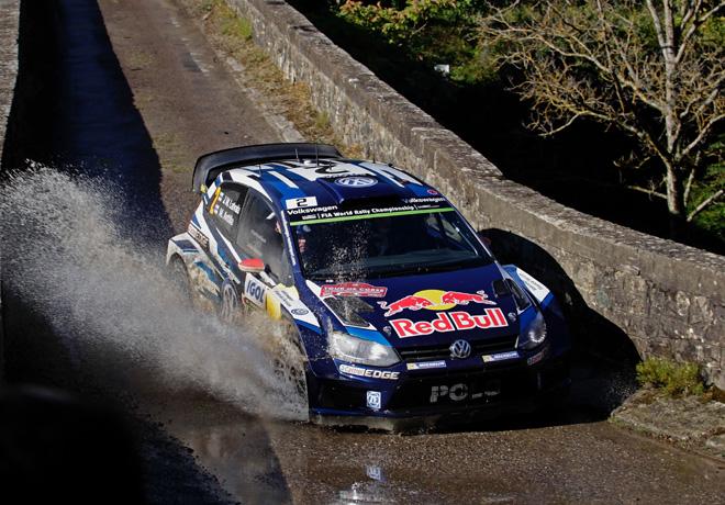 WRC - Corcega 2015 - Dia 2 - Jari-Matti Latvala - VW Polo R