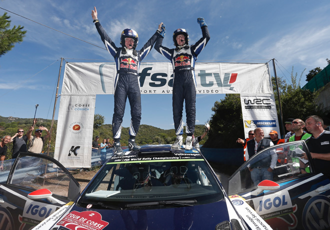 WRC - Corcega 2015 - Final - Jari-Matti Latvala - VW Polo R