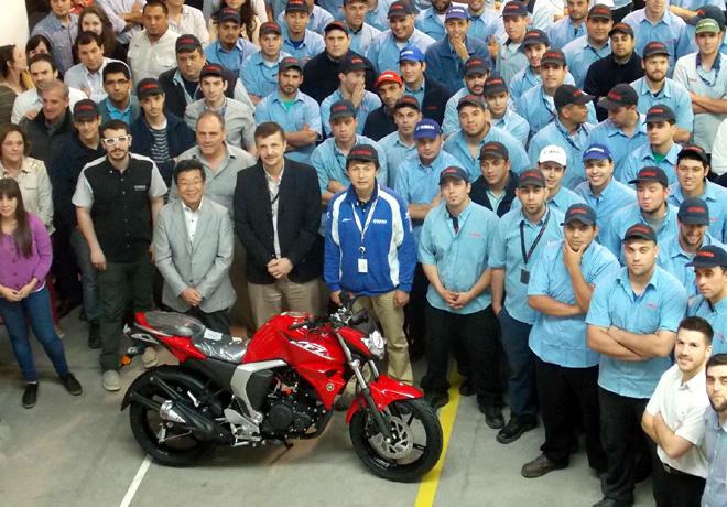 Yamaha alcanzo las 300 mil unidades de produccion nacional