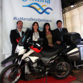 Zanella presento su nueva moto ZR 250 Edicion Fiambala GTA en la Feria Internacional de Turismo 1