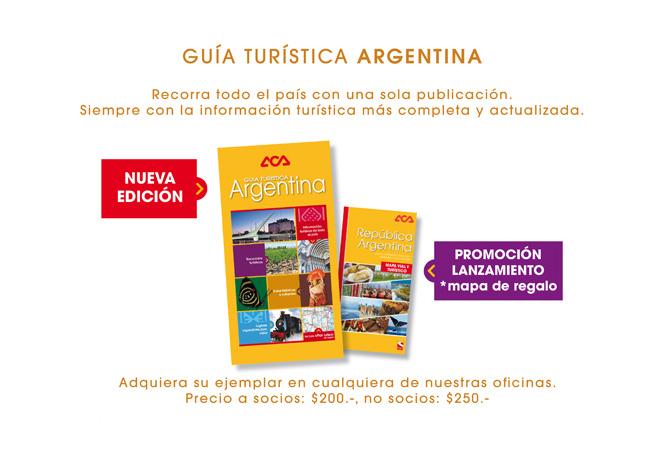 ACA - Guia Turistica Argentina 2016