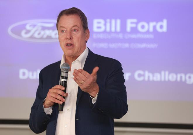 Bill Ford - Presidente ejecutivo de Ford Motor Company - en el Web Summit