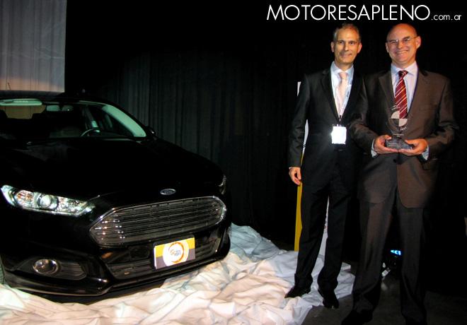 CESVI - El Auto mas Seguro 2015 -  Ford Mondeo SE Duratec 2