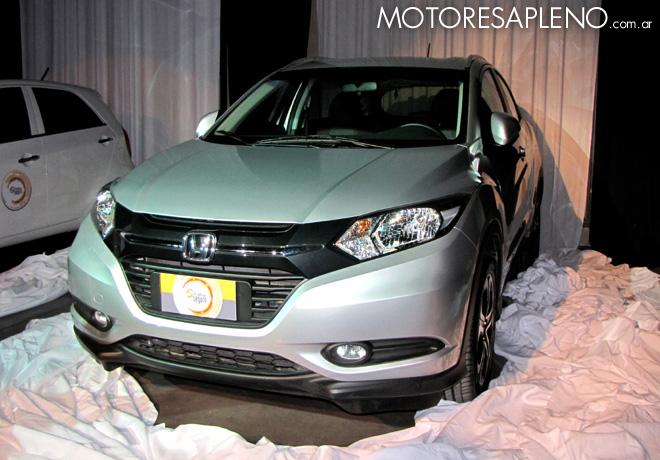 CESVI - El Auto mas Seguro 2015 - Honda HR-V LX 1