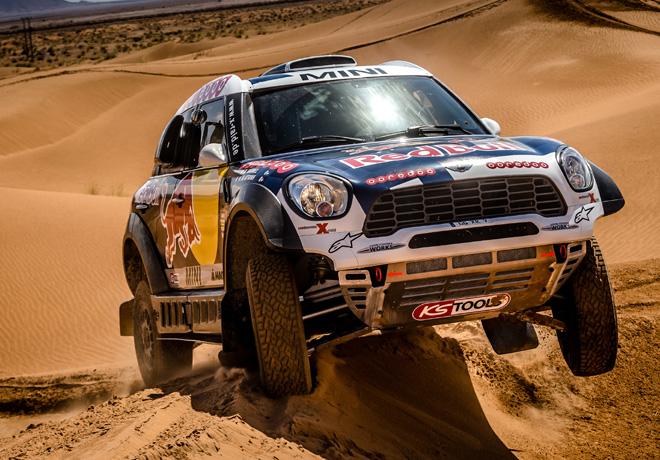 Dakar 2016 - MINI ALL4 Racing - Al-Attiyah