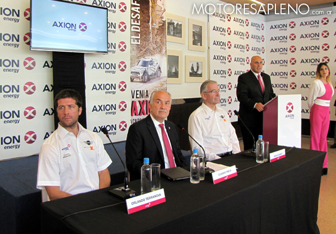 Dakar 2016 - Presention AXION X-Raid Team