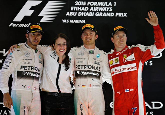 GP de Abu Dhabi de Fórmula 1 – Carrera: Tercera victoria consecutiva de Nico Rosberg.