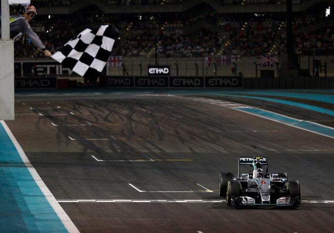 F1 - Abu Dhabi 2015 - Carrera - Nico Rosberg - Mercedes GP