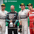 F1 - Brasil 2015 - Carrera - Lewis Hamilton - Nico Rosberg - Sebastian Vettel en el Podio