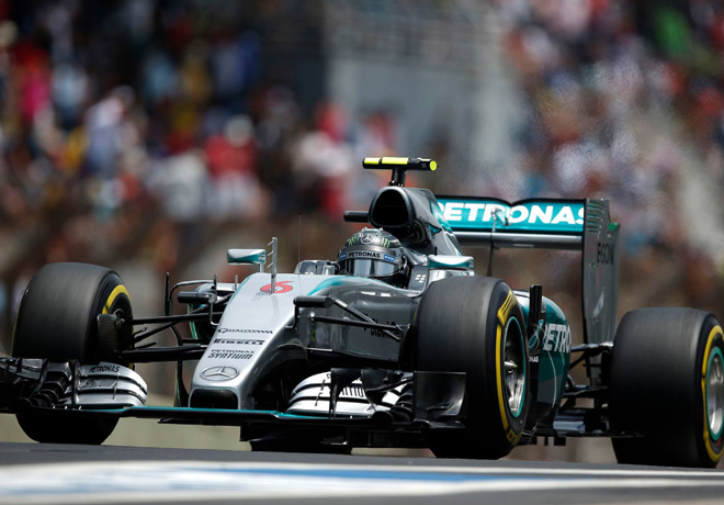 F1 - Brasil 2015 - Carrera - Nico Rosberg - Mercedes GP