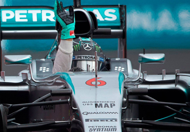 F1 - Mexico 2015 - Carrera - Nico Rosberg - Mercedes GP