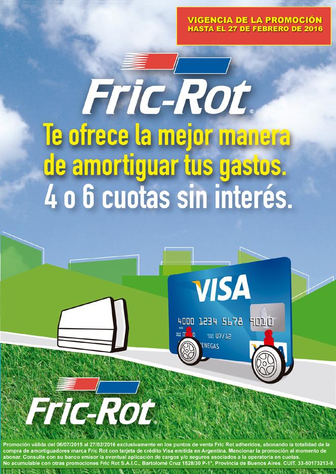 Fric-Rot extiende la promocion con Visa hasta febrero 2016