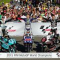 MotoGP - Moto2 - Moto 3 - Valencia 2015 - Campeones