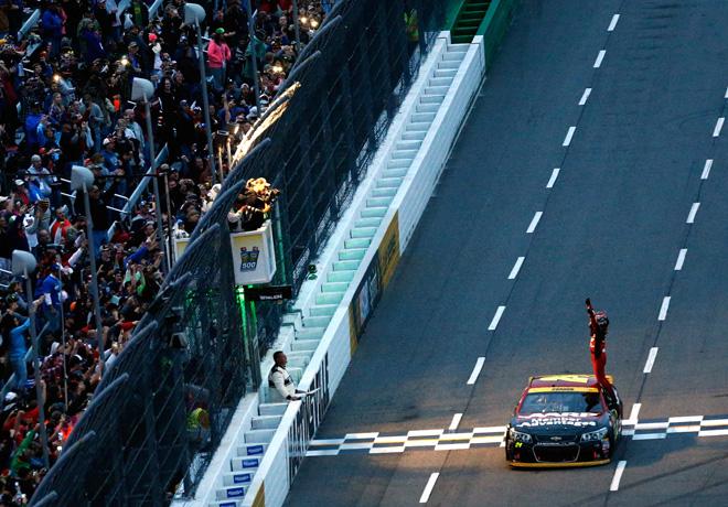 NASCAR - Martinsville 2015 - Jeff Gordon - Chevrolet SS