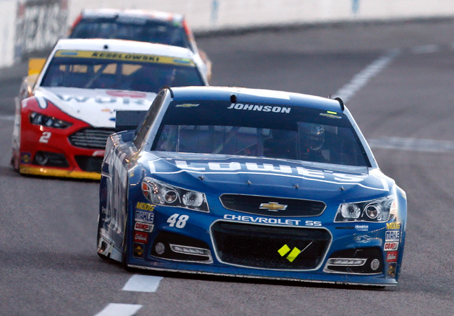 NASCAR - Texas 2015 - Jimmie Johnson - Chevrolet SS